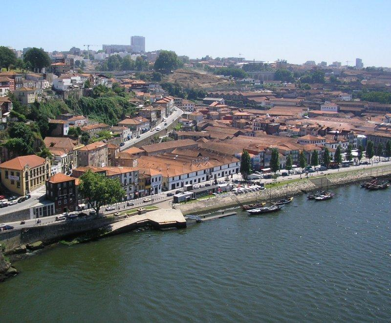 Over the river at Vila Nova de Gaia there are many port wine cellars....