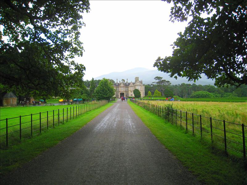 Muckross House from the front