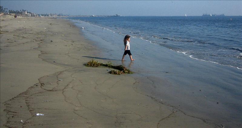 海边的女孩