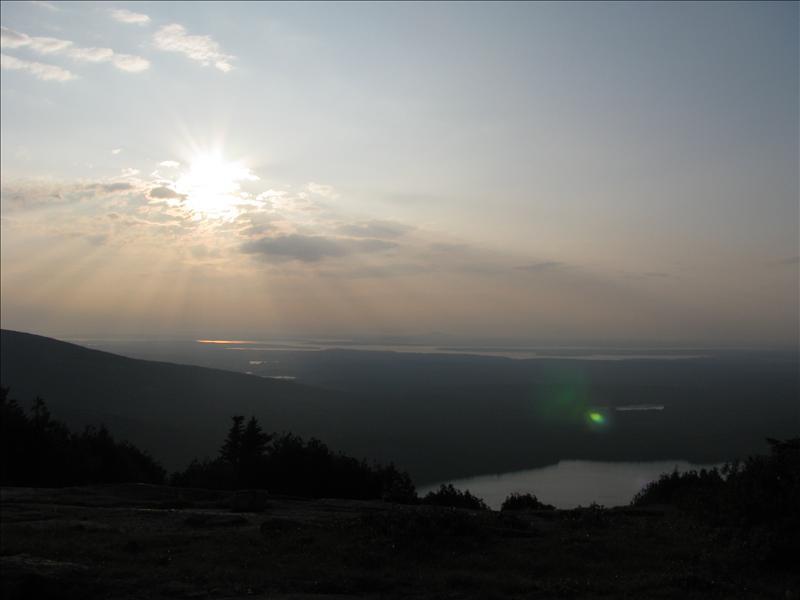 zonsondergangetje