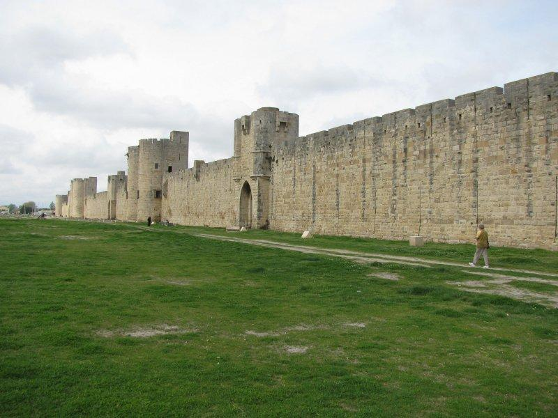 .. near Aigues-Mortes with its...