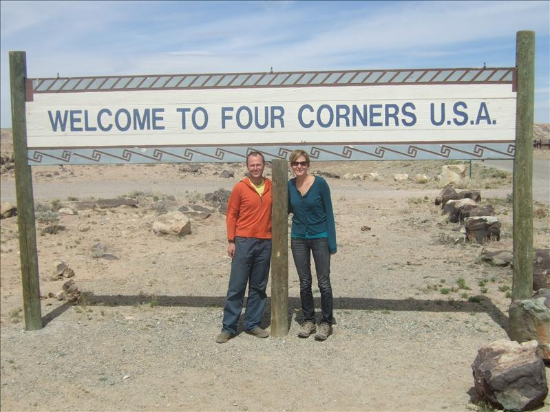 4 corners - Arizona, Utah, Colorado, New Mexico