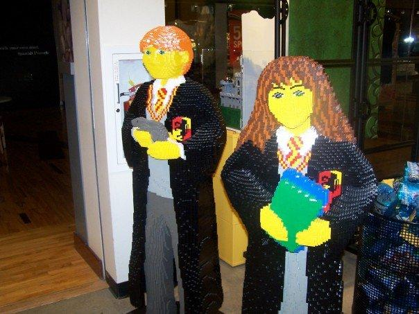Harry Potter in Lego... TOO MUCH TIME I TELL YA!!