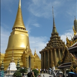 Wat Phra Kaeo, Buddhist monastery inside the Grand Palace.