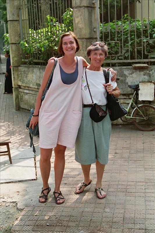 taran & her mother