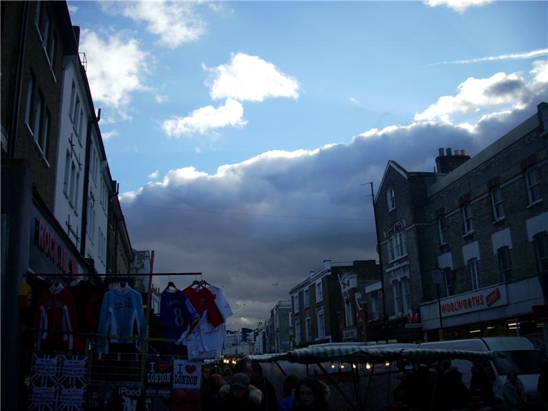 Cloudy Notting Hill
