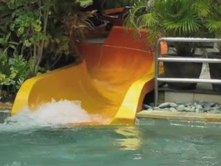 Bryan had a blast @ Waterbom Bali