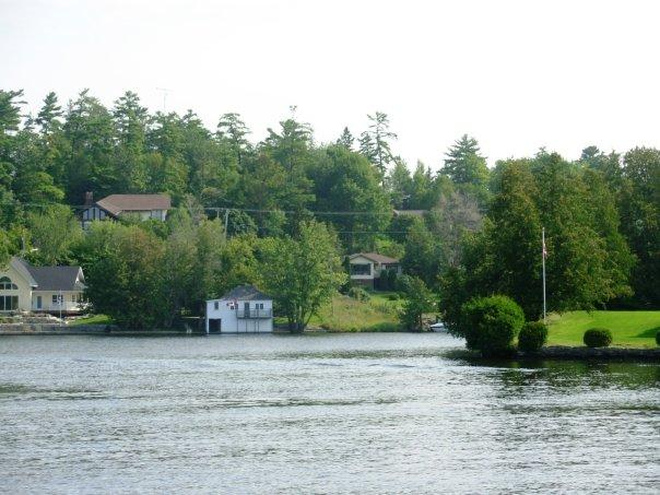 Scenery in front of the cottage