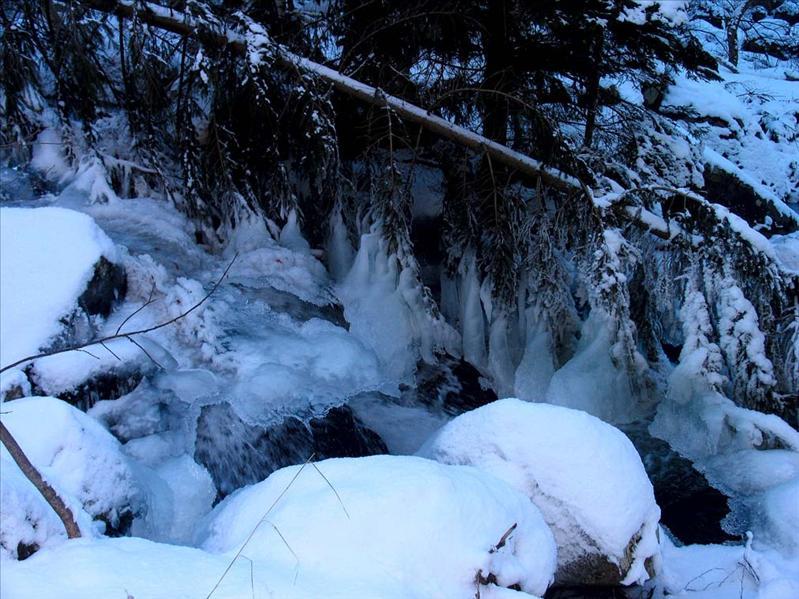 Vladayska river, 22.12.2007