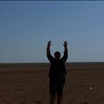 Jo-Ann in de woestijn