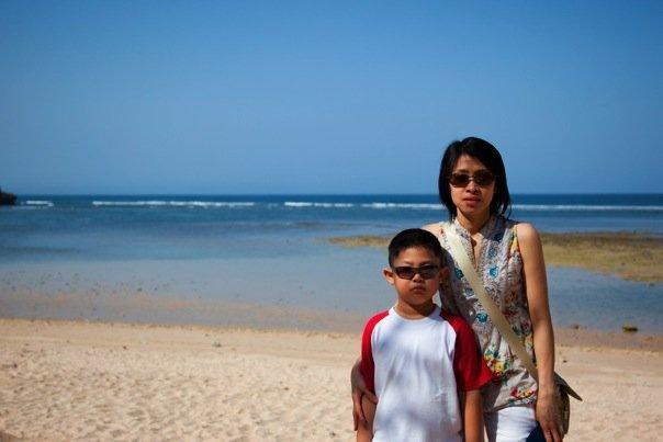 Nusa Dua Beach.