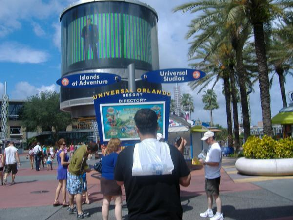 Blue Man Group Entrance ...