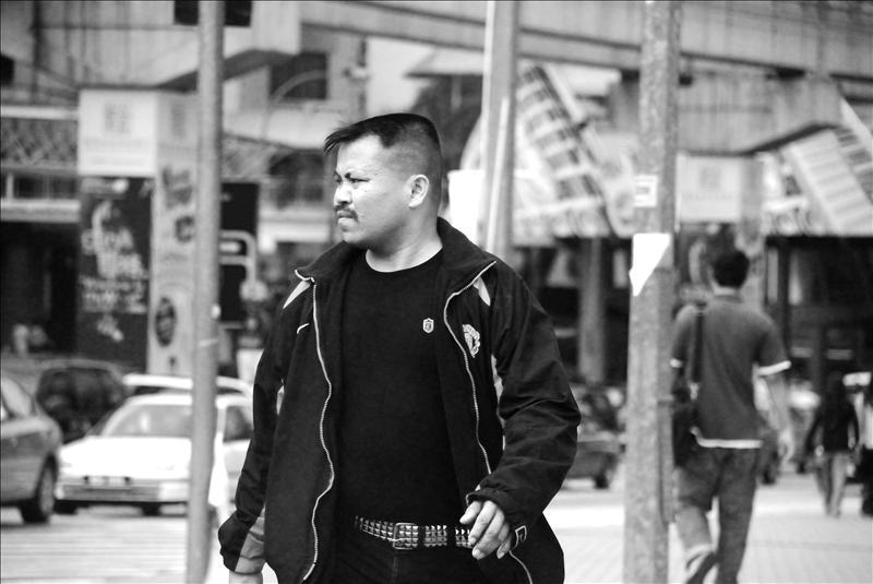 Street shooting session at Jalan Imbi