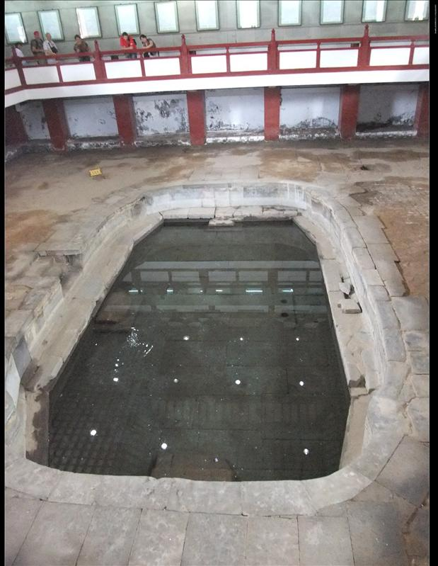 唐明皇洗澡池