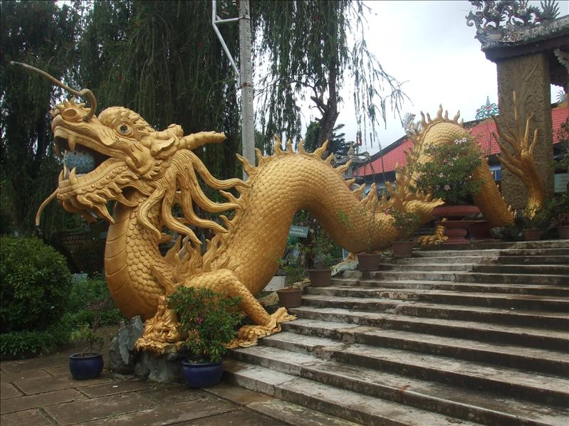 The Dragon Temple, Dalat, Vietnam