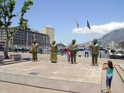Nobel Winners at the V&A Waterfront