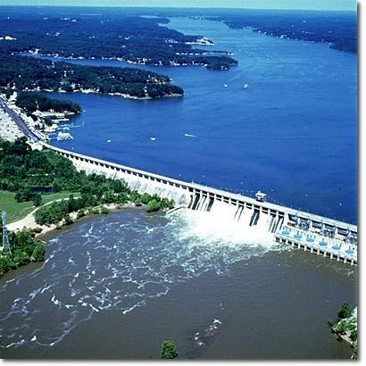 Bagnel Dam created the Lake years ago
