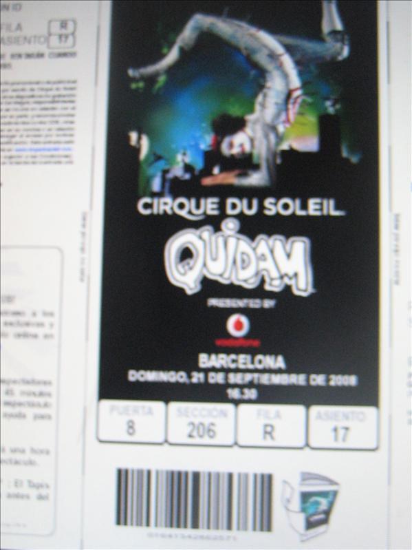 Cirque du Soleil!