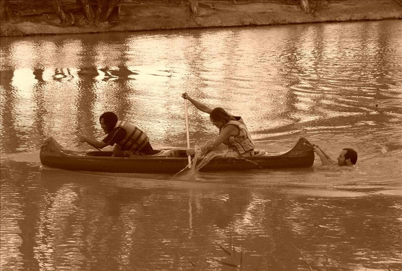 Imli•Aline•André•canoe trip•Goulburn River