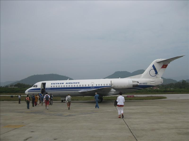 Vietnam Airlines out of Luang Prabang