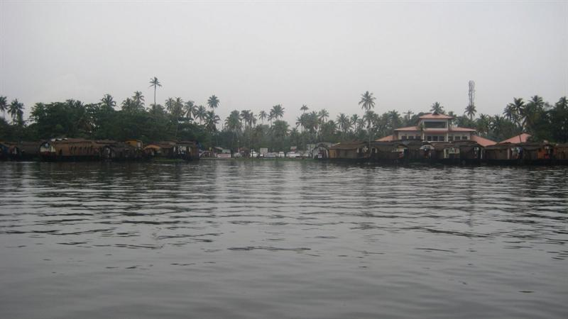 Alleppy, the place from where houseboat journey begins