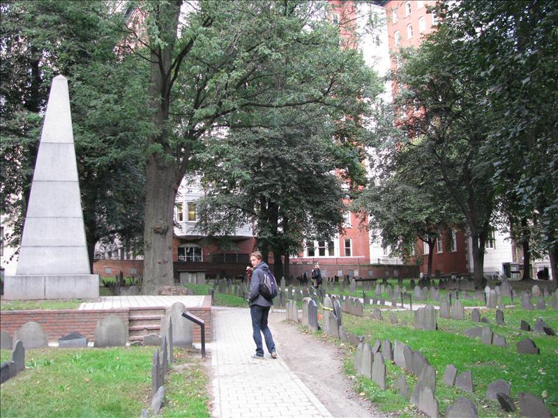 kerkhofje waar roosevelt ligt