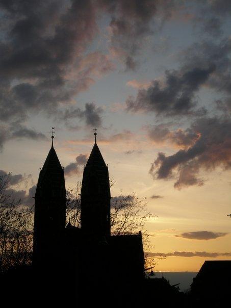 freiburg sunsets