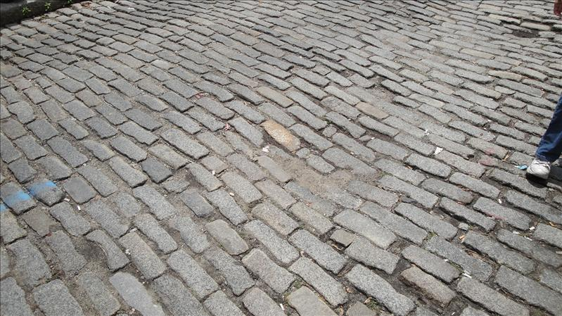 Cobblestone streets still in Boston