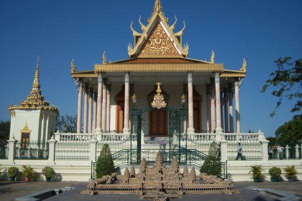 MODEL OF ANGKOR WAT, ROYAL PALACE, PHNOM PENH