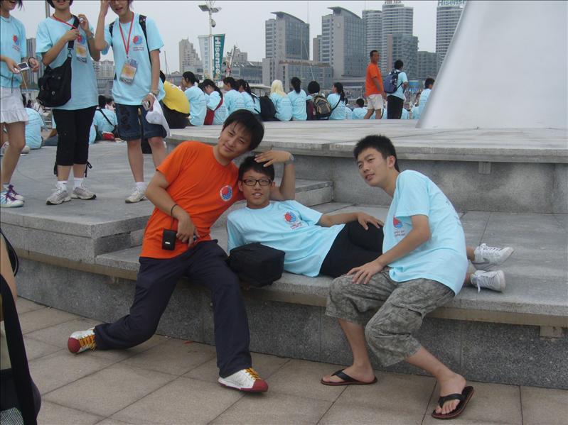 一名上海導師,香港團員,上海團員無聊之作 @ 青島奧帆中心