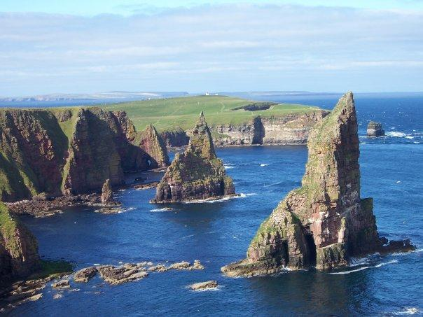 STACKS OF DUNCANSBY, AUG 2005