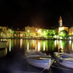 Supetar (Brac) by night