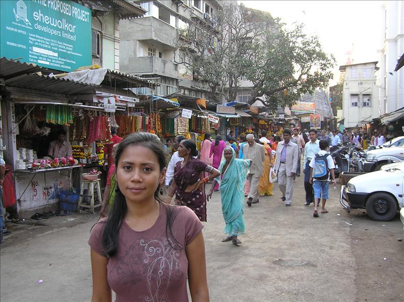 On the way to Mahalaxmi Temple, Bombay