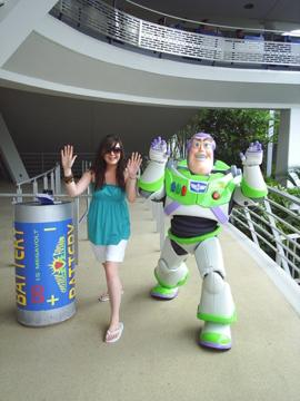 Amy and Buzz Lightyear