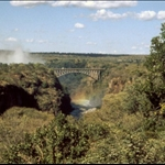 VICTORIA FALLS BRIDGE, ZIMBABWE - MAR