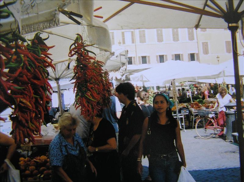 Campo di Fiori farmer's market