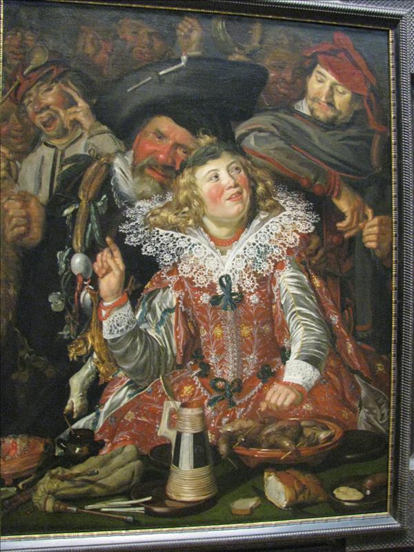 carnaval met Jan Doedel (die gast rechts)