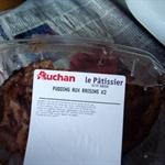 pudding aux rasins  意思是葡萄乾布丁
