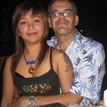 Joy & Mark, on the eve of our flight from Phuket to Bangkok.