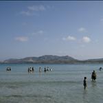 Beach la Pelosa Stintino and Piana Island