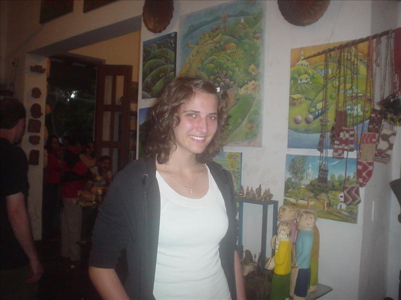 in Aregua (Ort mit viel Kunsthandwerk)