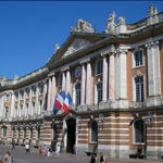 The Capitole, the city hall....