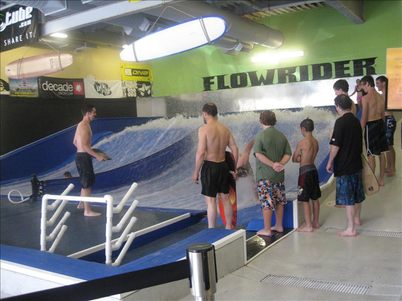 FlowRider... I'm doing this next time