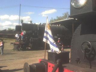 Locomotora No. 3 bandera