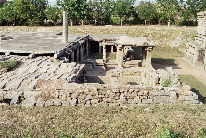 underground Virupaksha temple