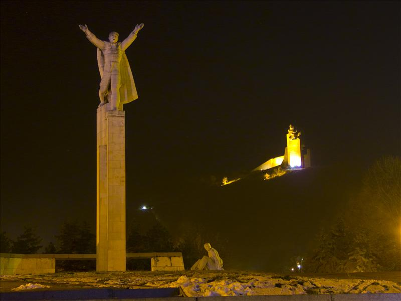 Monument 1300 years Bulgaria