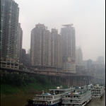 Countless apartment buildings were going up mainly for the relocation of the locals who were affected by the