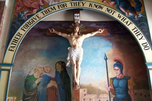 CRUCIFIXION SCENE, MOUNT CARMEL CHURCH, MUNNAR