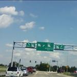 exiting at Missouri highway 231, or Telegraph