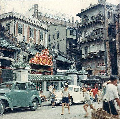BEFORE -- Hollywood Road